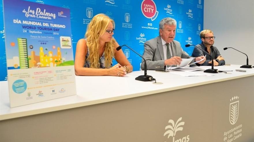 Presentación de los actos por el Día Mundial del Turismo en Las Palmas de Gran Canaria.