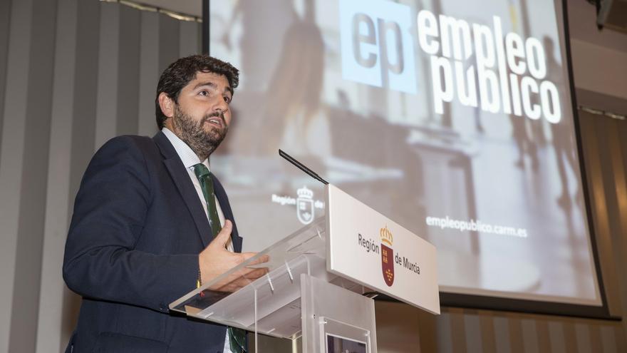 Fernando López Miras, presidene de la Comunidad de Murcia