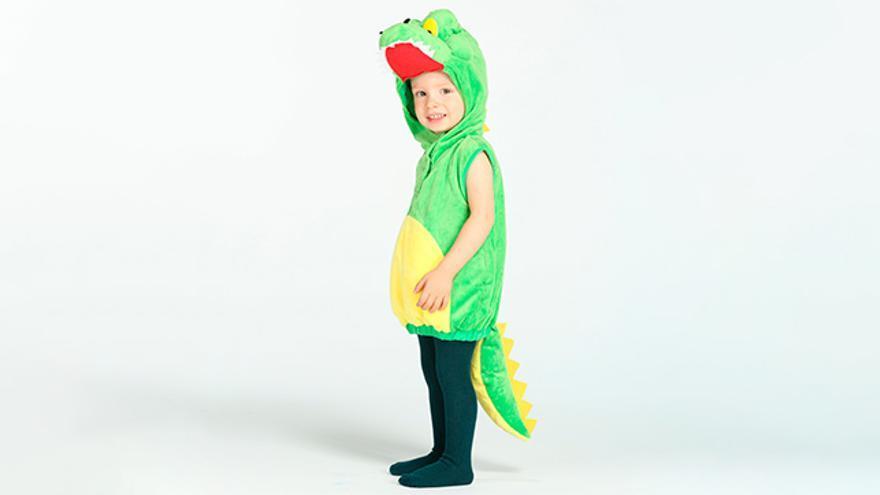 Disfraz de cocodrilo.