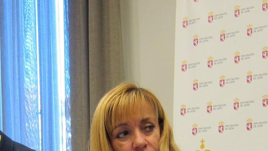 La Diputación de León propone conceder a Isabel Carrasco la Medalla de Oro de la Provincia