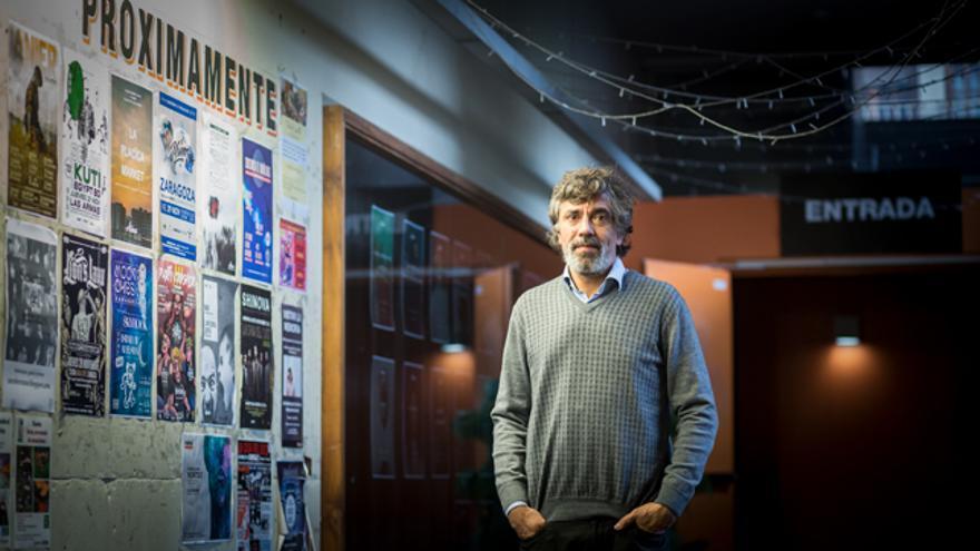 Sergio Vinadé, gerente del Centro Musical Las Armas.