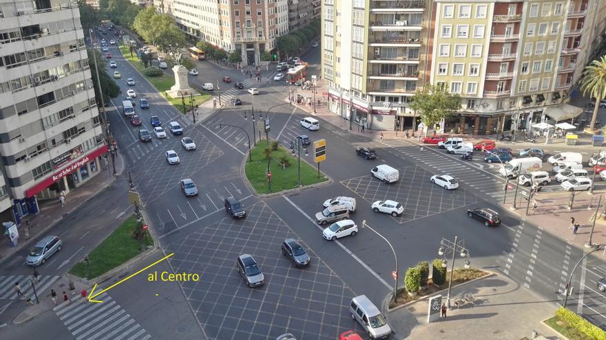 València, plaza de España (J.O. julio de 2019).