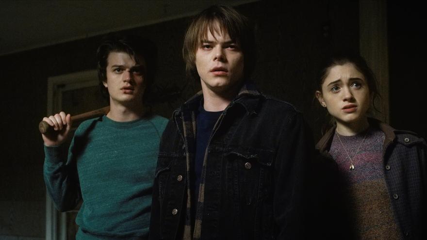 Imagen promocional de la segunda temporada de la serie de Netflix 'Stranger Things'