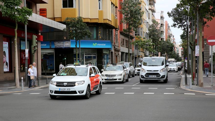 Taxis en Las Palmas de Gran Canaria.