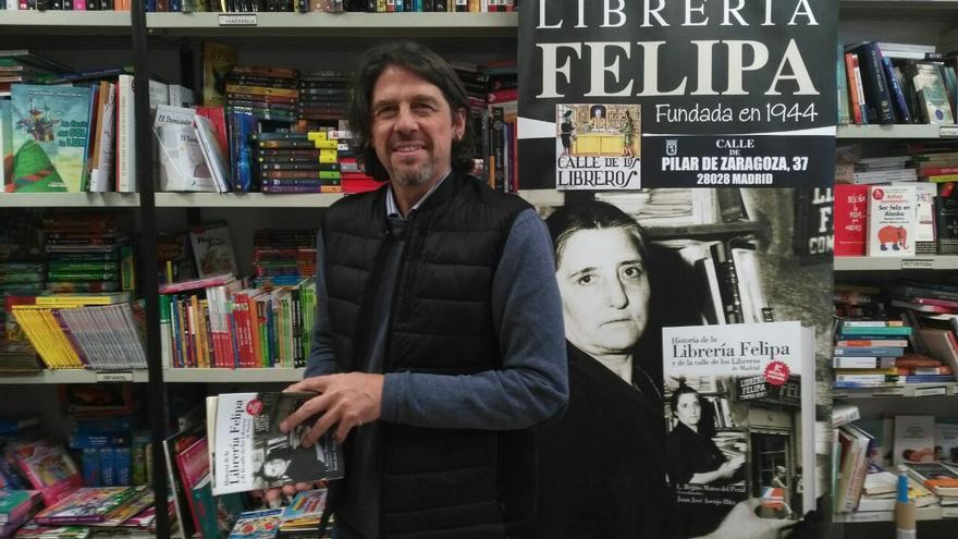 Juan José Asenjo Hita, sobrino y nieto de la fundadora de la Librería Felipa