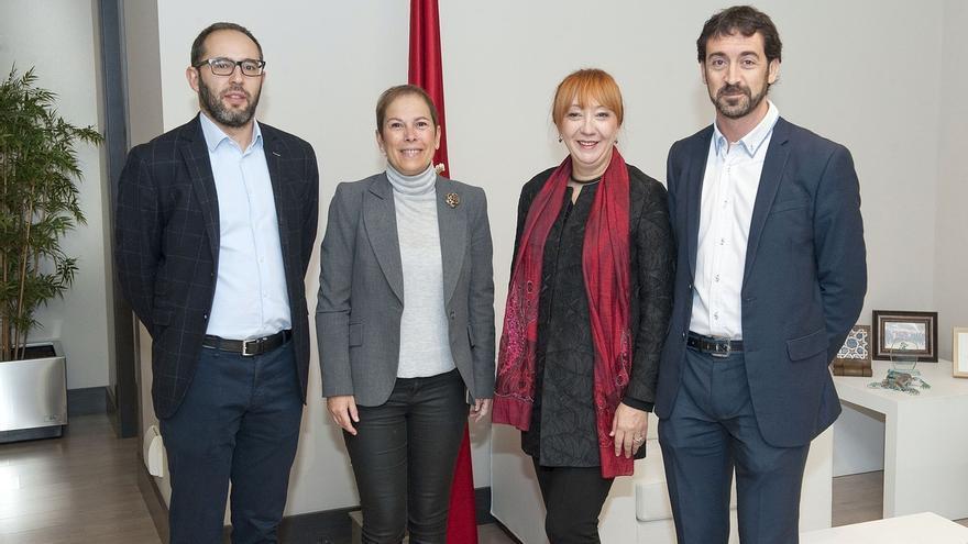Barkos recibe a la defensora del Pueblo de Bosnia Herzegovina y excomisaria de la ONU para desapariciones forzadas
