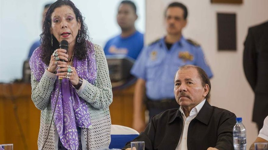 """La vicepresidenta de Nicaragua dice no prosperarán """"los propósitos terroristas"""""""
