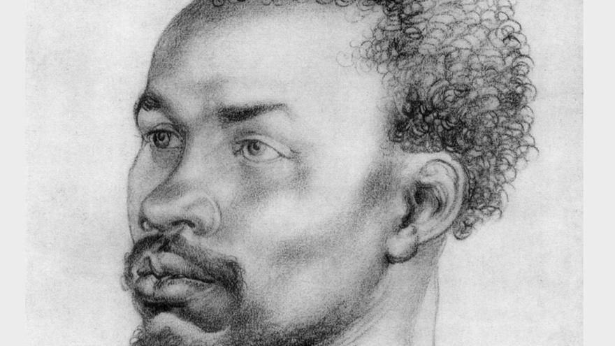 'Head of an African', Albrecht Durer.