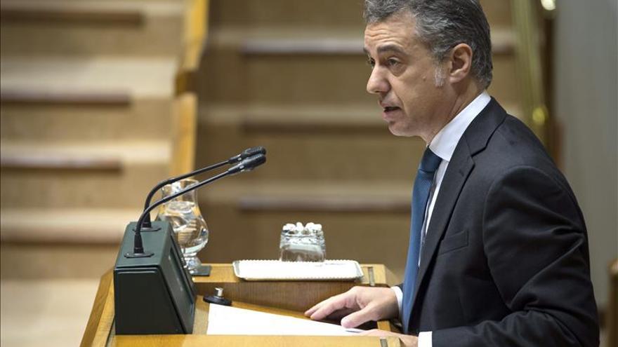 Urkullu dice que Fernández Díaz no es el ministro adecuado para liderar el nuevo tiempo