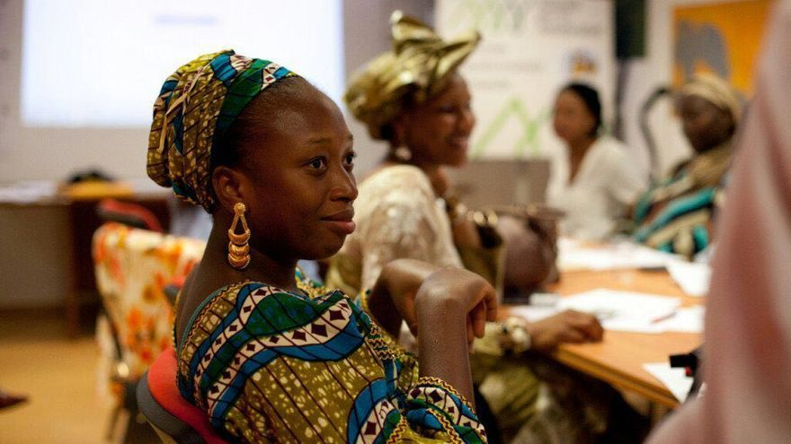 Una de las mujeres participantes en uno de los proyectos de Alianza por la Solidaridad. Imagen: ApS
