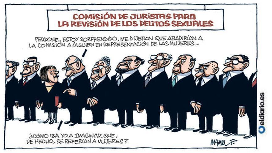 Comisión de juristas (05/05/2018), por Manel Fontdevila