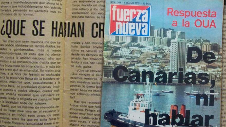 La ultraderecha española puso el grito en el cielo por el interés de OUA en la descolonización de Canarias.