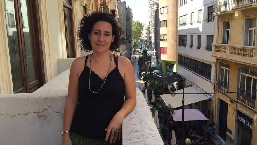 La concejala de Particitación de València en Comú, Neus Fábregas