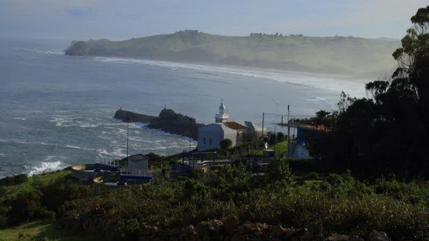 El Centro de Interpretación del Parque Natural de Oyambre, situado en el Faro de Punta de la Silla.