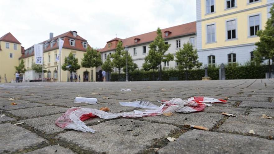 El atacante de Ansbach se presentó como pacifista al pedir asilo en Alemania