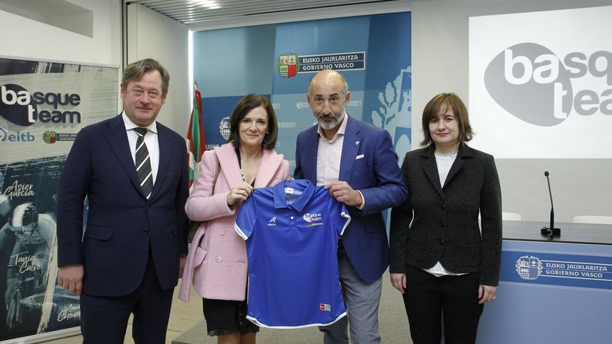 Fundación Basque Team, Athletic Club y Eibar colaborarán para impulsar el deporte vasco de alto nivel