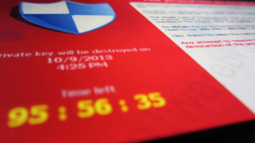 Cryptolocker ransomware. Foto: Flickr