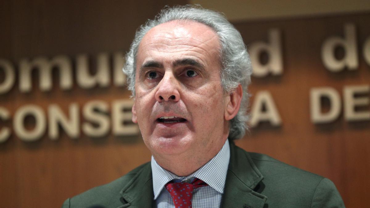 El consejero de Sanidad de la Comunidad de Madrid,EnriqueRuizEscudero / EFE/Rodrigo Jiménez