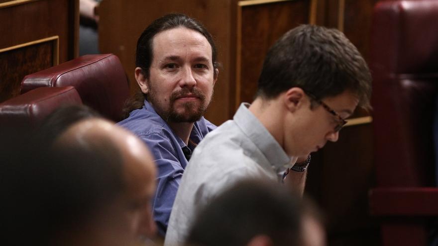 """Iglesias ve """"legítimo y previsible"""" que Errejón se presente, y avanza que no está lejos un acuerdo con Compromís"""