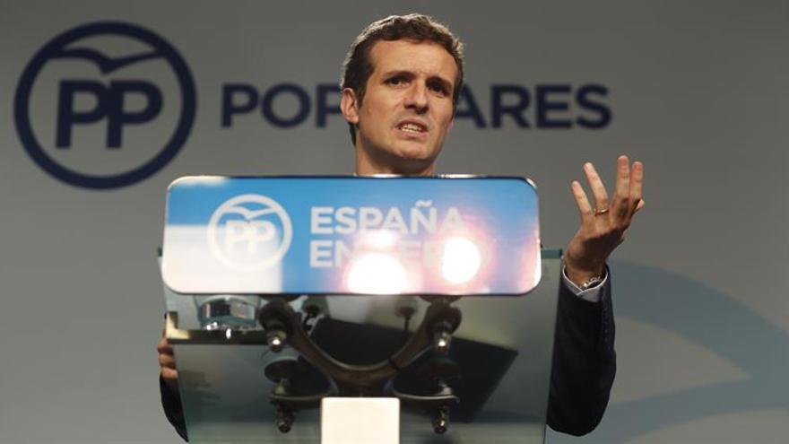"""Casado defiende """"mantener puentes"""" con C's y PSOE para después del 26J"""