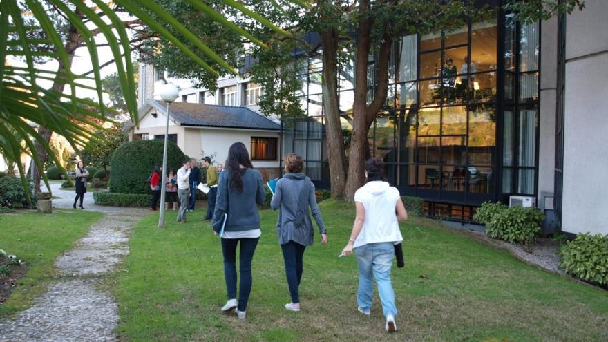 Instalaciones de IESIDE en Vigo, que acogerán las clases de la nueva universidad