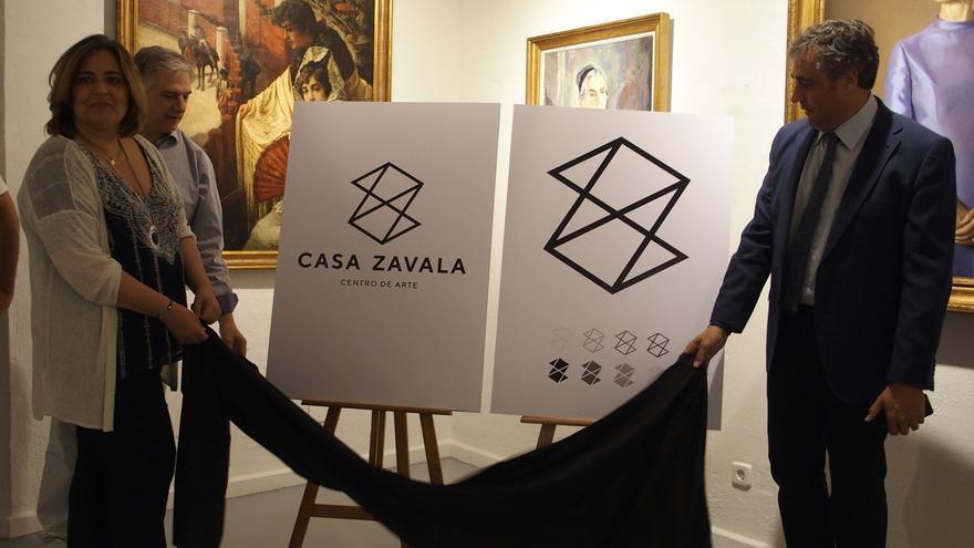 Nuevo logotipo del Centro de Arte Casa Zavala de Cuenca