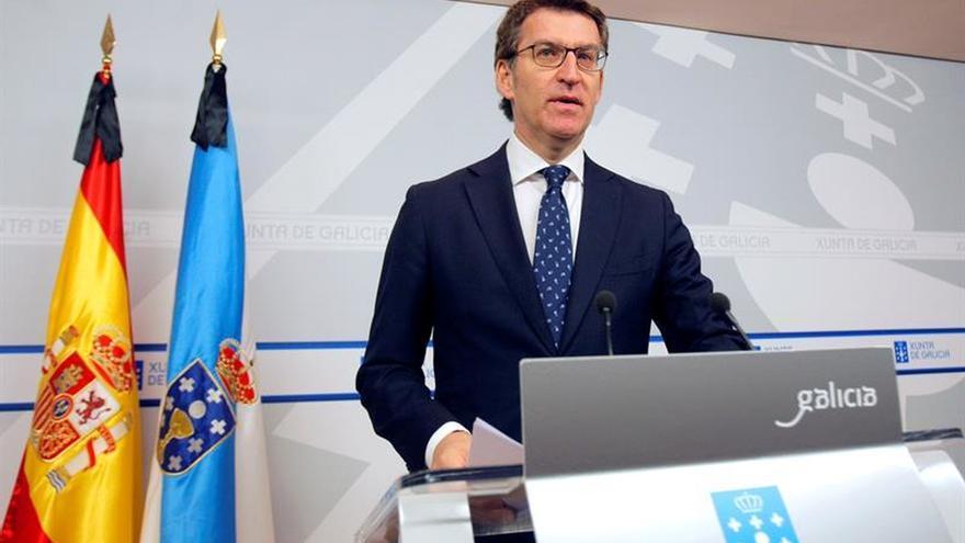 Feijóo insiste en que responderá sobre su futuro político tras el 2 de abril