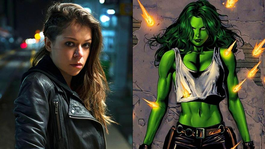 Tatiana Maslany, la elegida para protagonizar 'She-Hulk' en Disney+