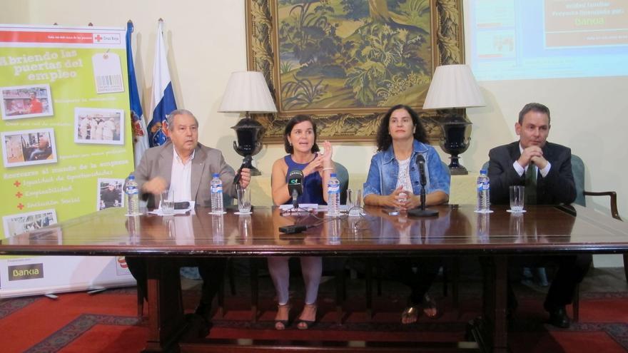 Acto de presentación de los itinerarios sociolaborales de Cruz Roja.