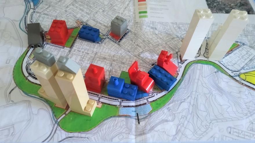 Las dos torres de la derecha serían las de vivienda protegida