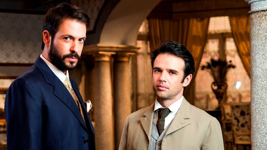 Los actores Raúl Peña y Severo Santacruz