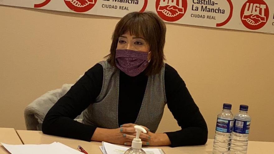 Alfonsi Álvarez, nueva secretaria general de UGT Ciudad Real con el 91 por ciento de los votos