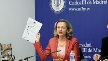 Nadia Calviño, en una imagen de archivo.