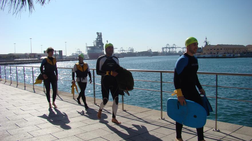 Acción antimilitarista en la Base Naval de Las Palmas de Gran Canaria