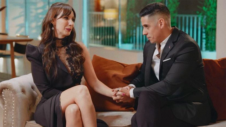 Fani y Christofer, tercera pareja oficial de 'La casa fuerte' en Telecinco