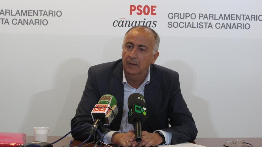 El diputado del PSOE por Santa Cruz de Tenerife, Francisco Hernández Spínola
