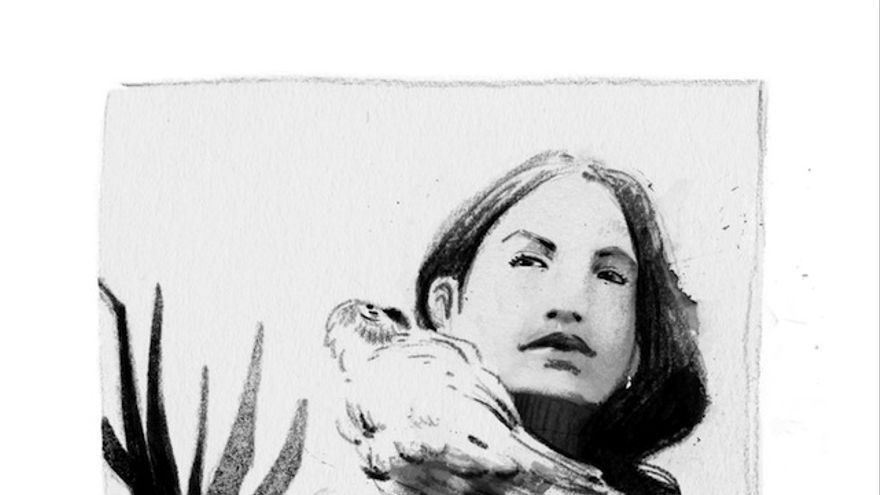 La activista trans e intersex Nicole Santamaría, dibujada por Susanna Martín para '10 ingobernables' (Libros del K.O.)