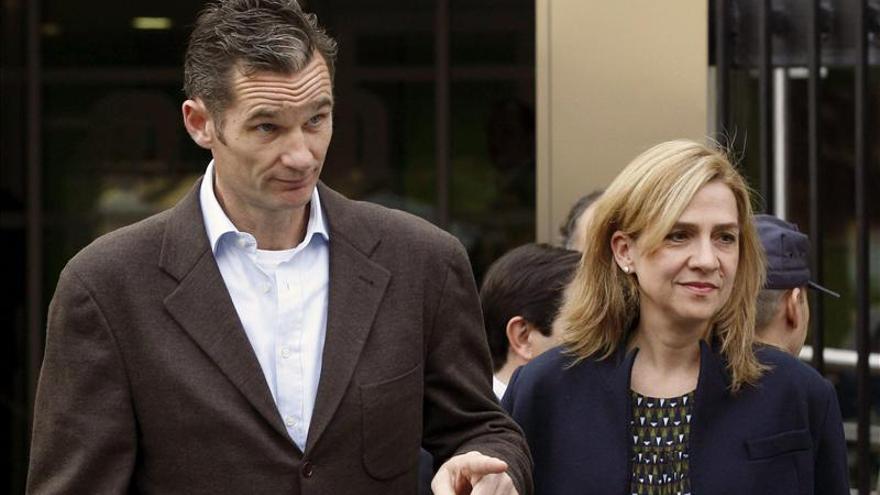 El juez aprecia indicios de cooperación o complicidad en la Infanta