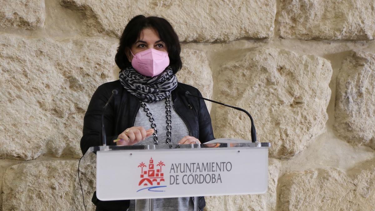 La concejala de Servicios Sociales, Eva Timoteo