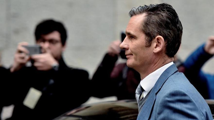 La Abogacía de Baleares pide subir a 6 años la condena a Urdangarin
