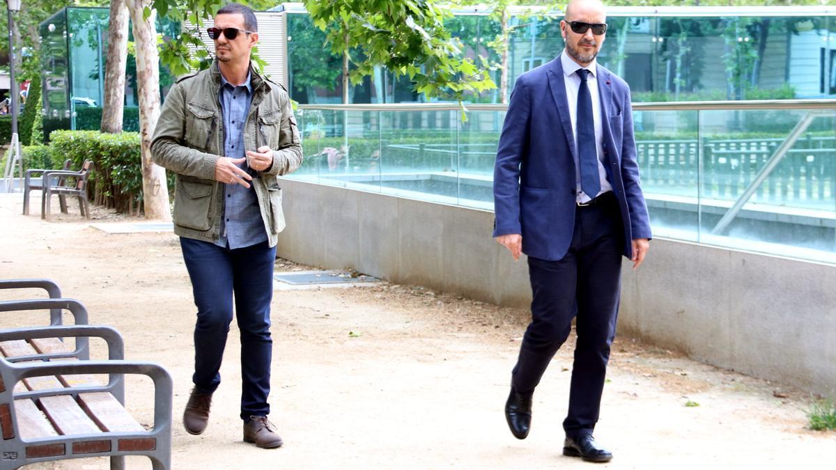 Los dos mossos, en la Audiencia Nacional
