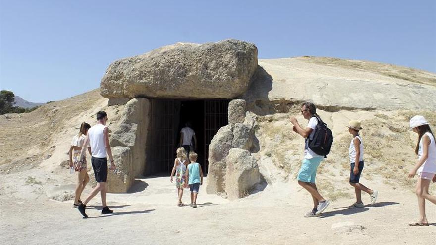 Los Dólmenes de Antequera celebran su primer año de Patrimonio Mundial con más de 200.000 visitas