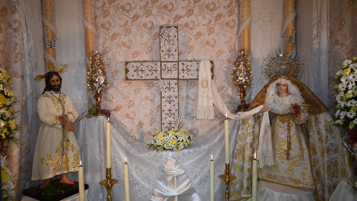 Una de las cruces de Villanueva.