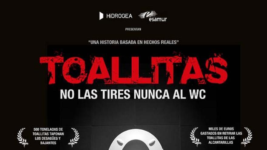 'Toallitas', una película de terror para el medio ambiente y para el bolsillo