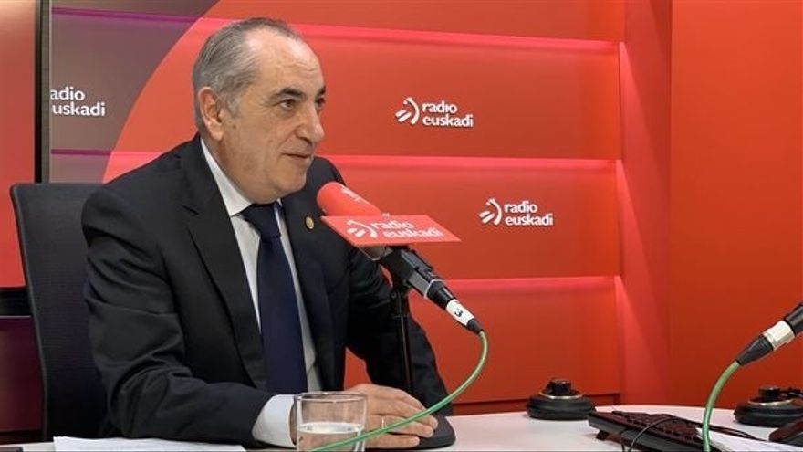 "Arriola llama a las empresas vascas a ""dar pasos acompasados a nivel mundial"" para lograr ""la neutralidad climática"""