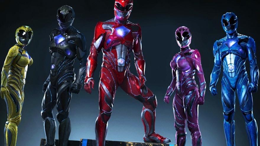 Primera imagen del robot Alpha 5 en la adaptación cinematográfica de los 'Power Rangers'