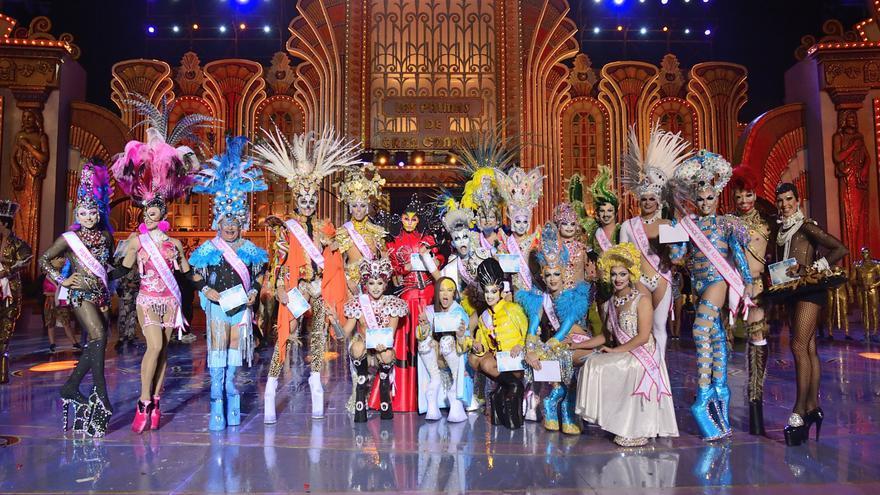 El Carnaval de 'Los Locos años 20' ya tiene finalistas para concursar en la gala Drag Queen