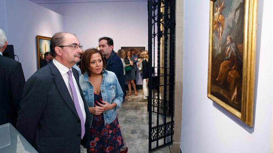 Investigan técnicas pictóricas históricas en 'goyas' del Museo de Zaragoza