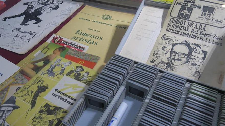 """La """"joyas"""" del agitador cómic argentino, reunidas en la Biblioteca Nacional"""