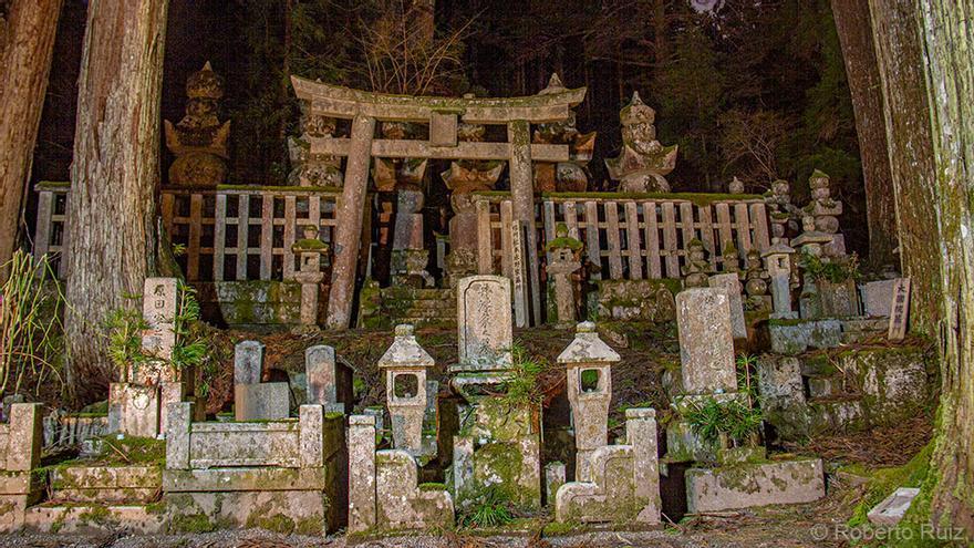 Cementerio de Okunoin, Japón